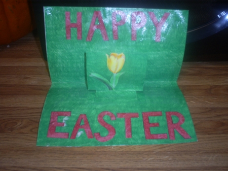 Make a pretty Easter card today.